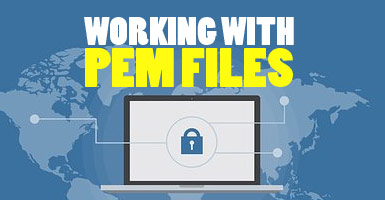 working with pem files